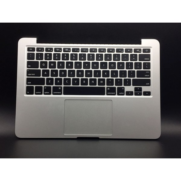 "Laptop Topcase for MacBook Pro A1502 13"" 2013 Top Case with Touchpad Keyboard Battery 661-8154, B0792SR8MH"