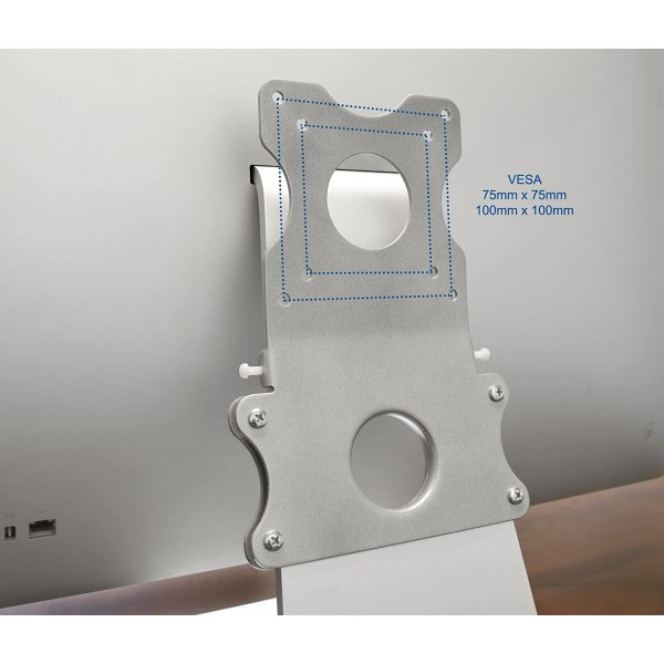 VIVO Adapter VESA Mount Kit | Bracket Set for Apple 21.5 inch and 27 inch iMac (Late 2009 to Current Models) LED Display Computer (Stand-MACB), B00RW9F336