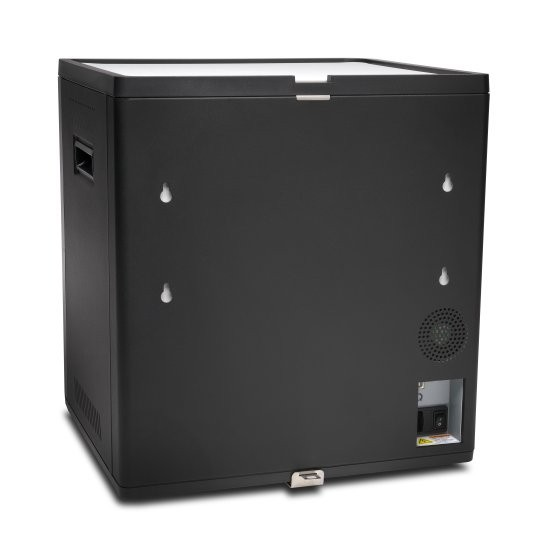Kensington Charge and Sync Cabinet, Universal Tablet — Black, KEN-CAB-67862
