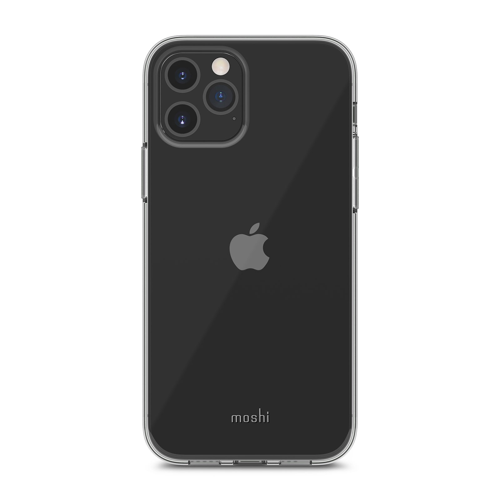 Moshi Vitros Clear Case for iPhone 12/12 Pro - Crystal Clear, 99MO128902