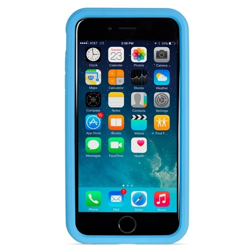 NewerTech NuGuard KX, X-treme Protection for Your iPhone 6/6s - Blue, NWTKXIPH6BL