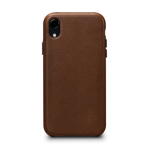 Sena Deen LeatherSkin case for iPhone XR - Tan