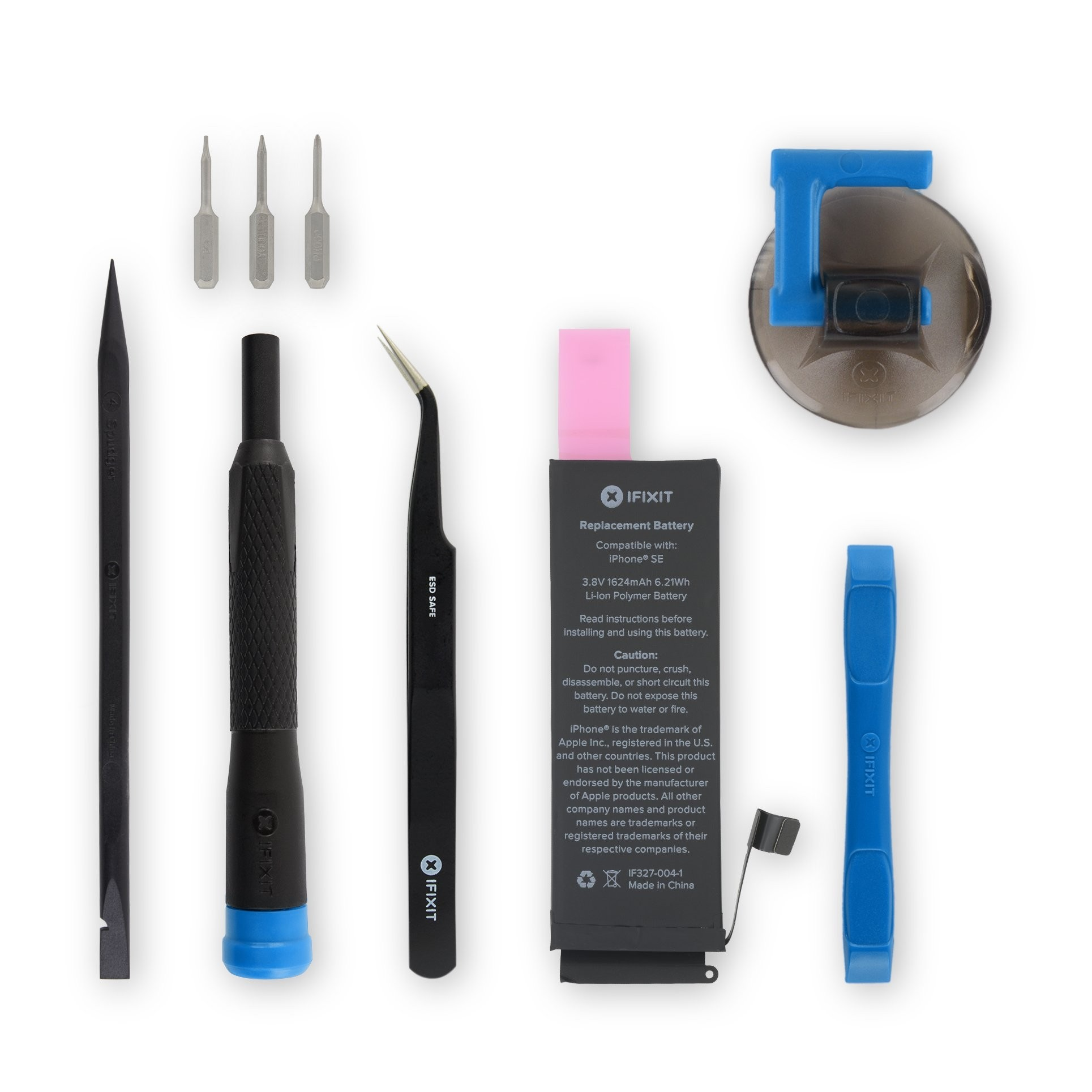iFixit iPhone SE Replacement Battery - Fix Kit v.3 with Adhesive, IF327-004-7