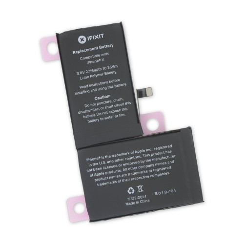 iFixit iPhone X Replacement Battery - Brand New