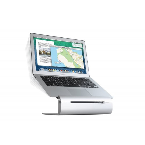 Rain Design iLevel Adjustable Height Notebook Stand - Silver