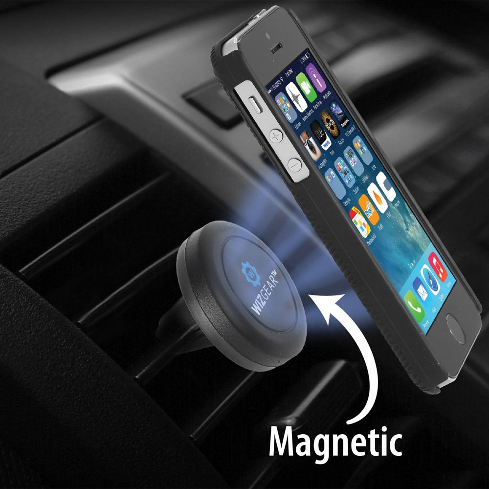 WizGear Universal Magnetic Air Vent Mount for Smartphones , WG-MAVM