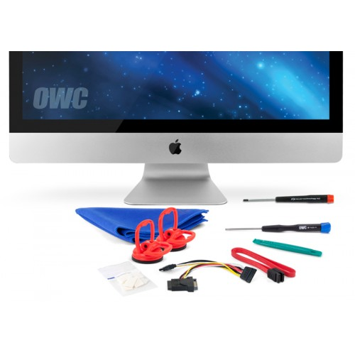 "OWC DIY Kit for all Apple 27"" iMac 2010 Models for installing an internal SSD - With Tools"