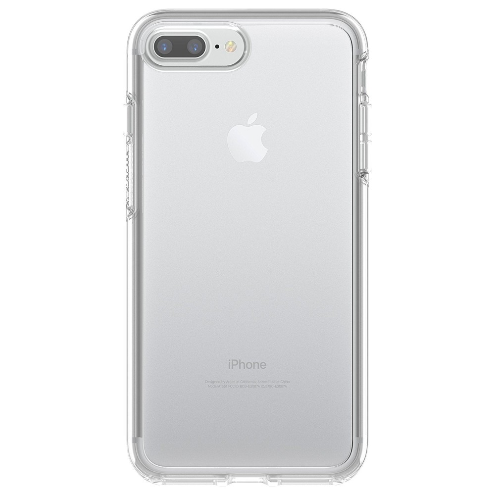 OtterBox SYMMETRY Clear Series Case for iPhone 8 Plus & iPhone 7 Plus - Clear, 77-56916
