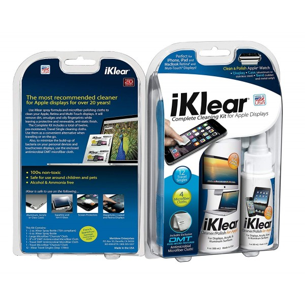 Klear Screen iKlear - The Complete Cleaning Kit, KLRIK26K