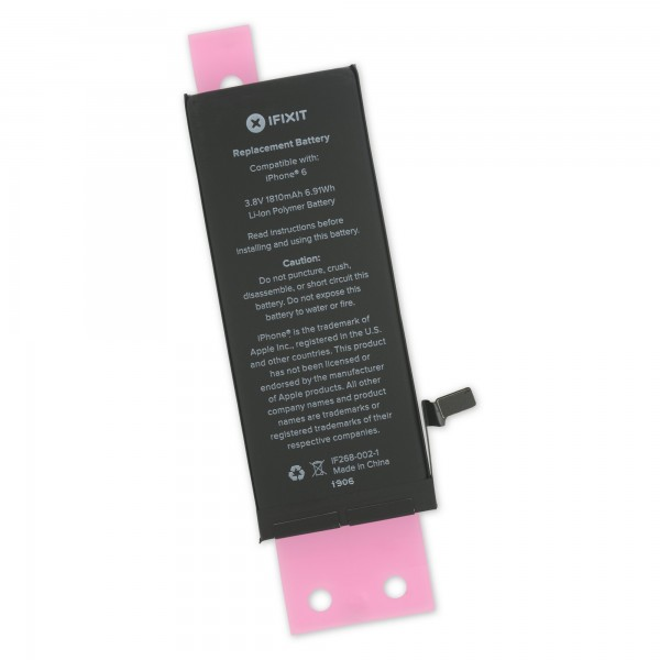 iFixit iPhone 6 Replacement Battery - Includes Adhesive, IF268-002-6