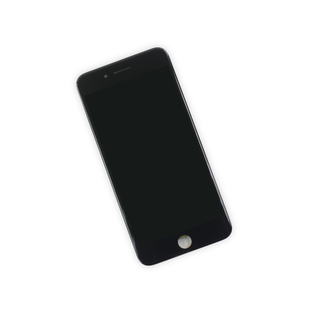 iPhone 7 Plus LCD Screen and Digitizer, New, Part Only - Black, IF333-003-1