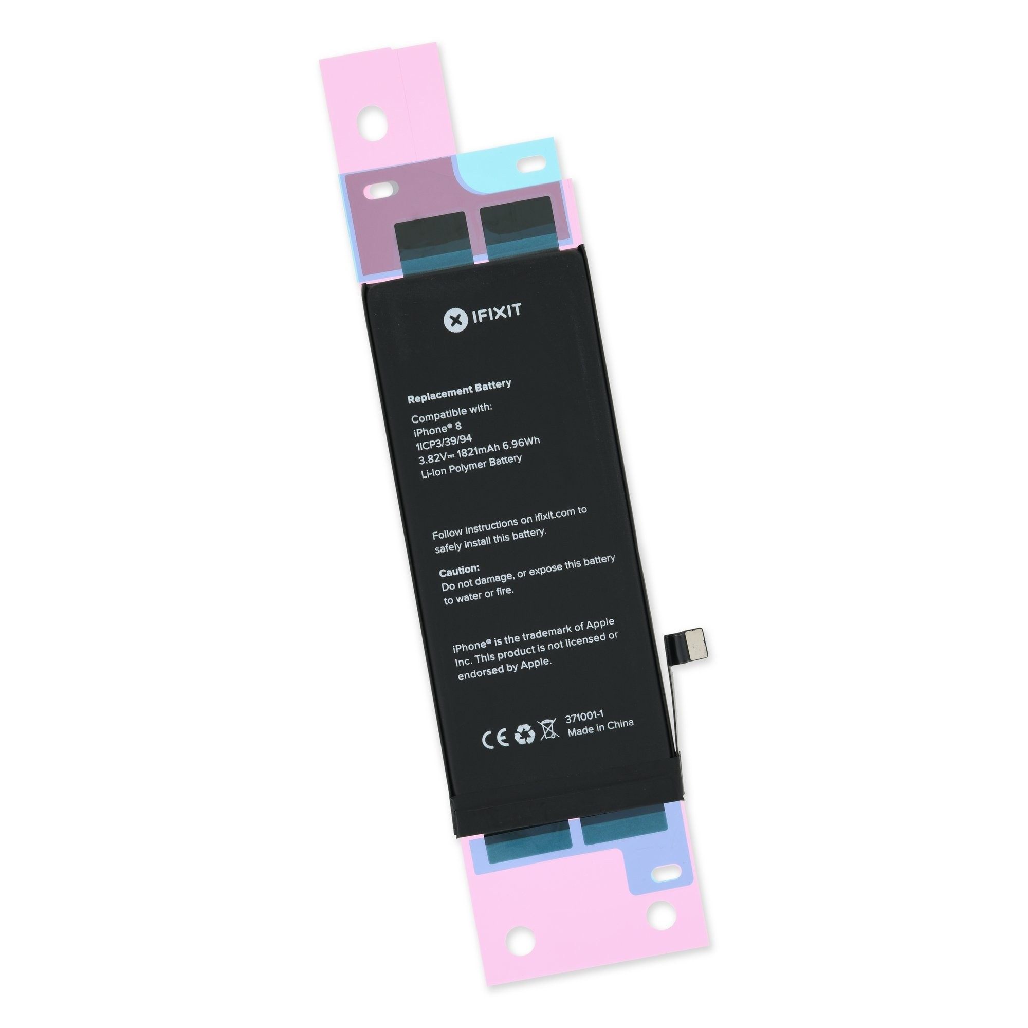 iPhone 8 Replacement Battery - Brand New - Includes Adhesive, I8A-005