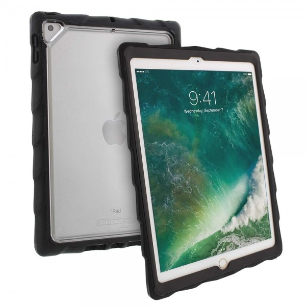 "Gumdrop DropTech Clear Rugged iPad 9.7 Case - Designed for iPad 9.7"" 2018 / 2017, 15GD-APP-DTC-IPAD97"