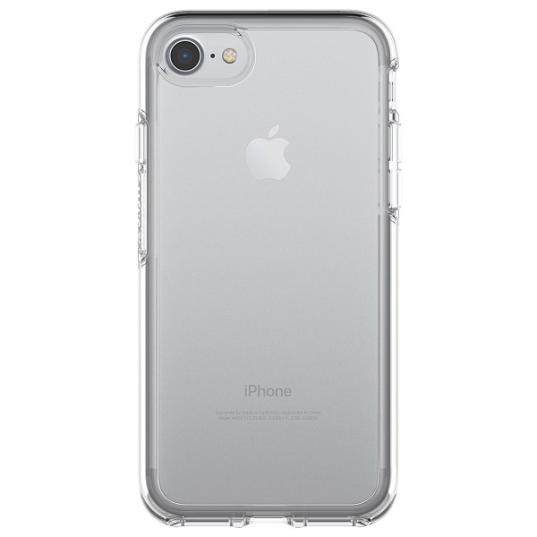 OtterBox Symmetry Clear Series Case for iPhone 8 & iPhone 7 - Clear,  77-56719