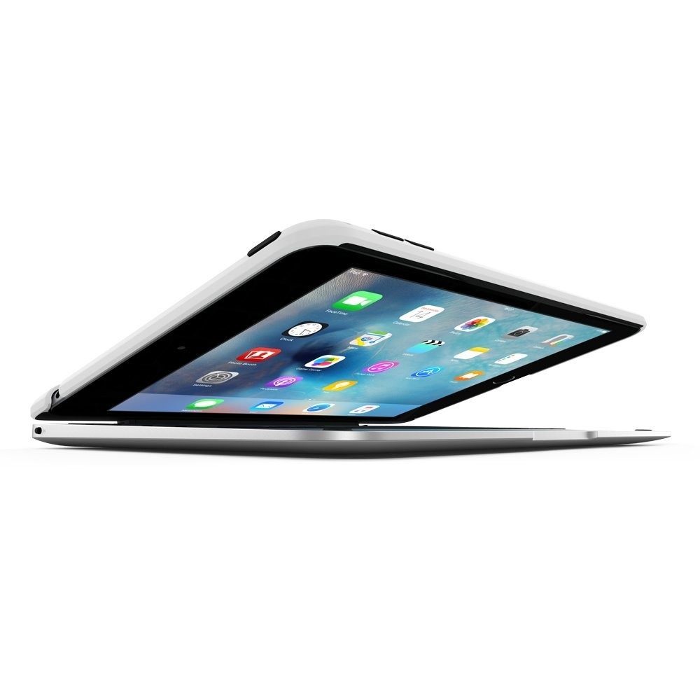 ClamCase Pro for iPad mini 4 - Silver, IPD-265-WSLV