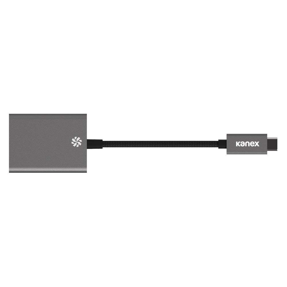 Kanex USB Type-C Male to HDMI Female 4K Ultra HD Adapter - Space Gray, K181-1155-SG4i