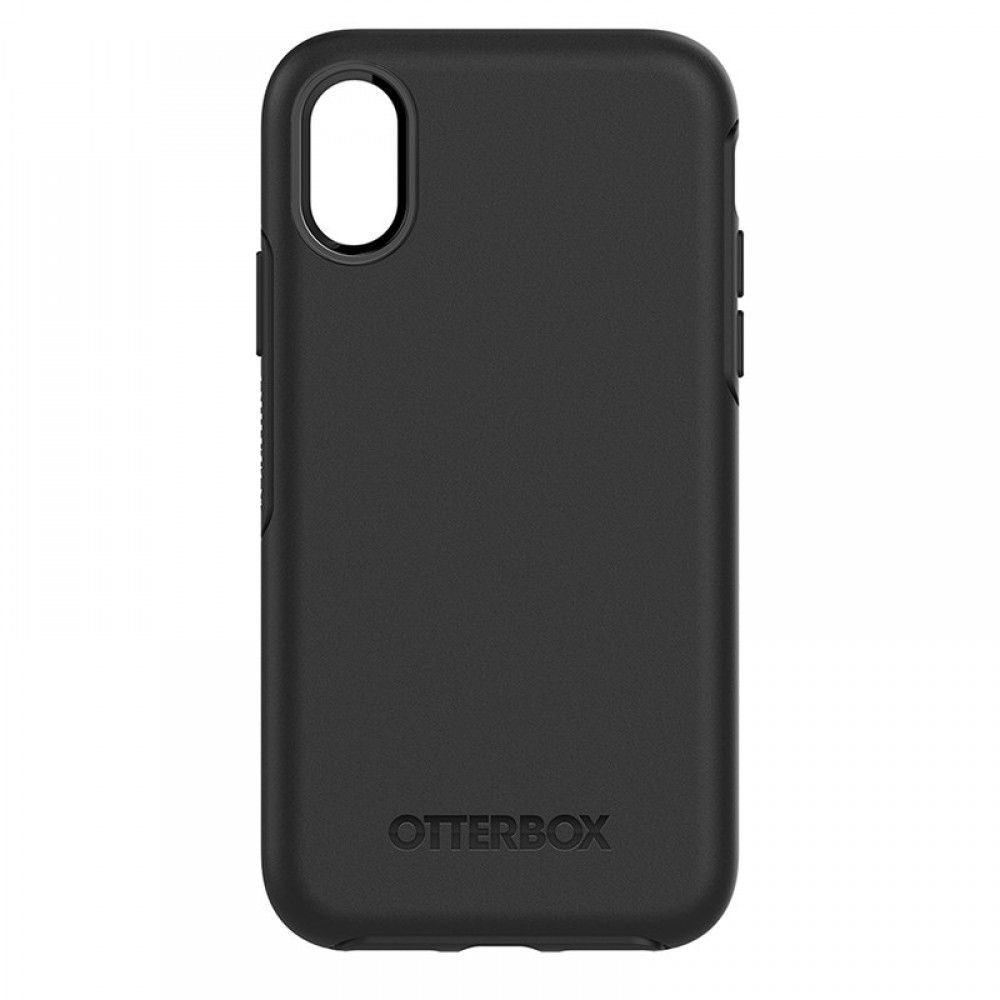 OtterBox Symmetry Series Case Suits for iPhone X - Black,  77-59526