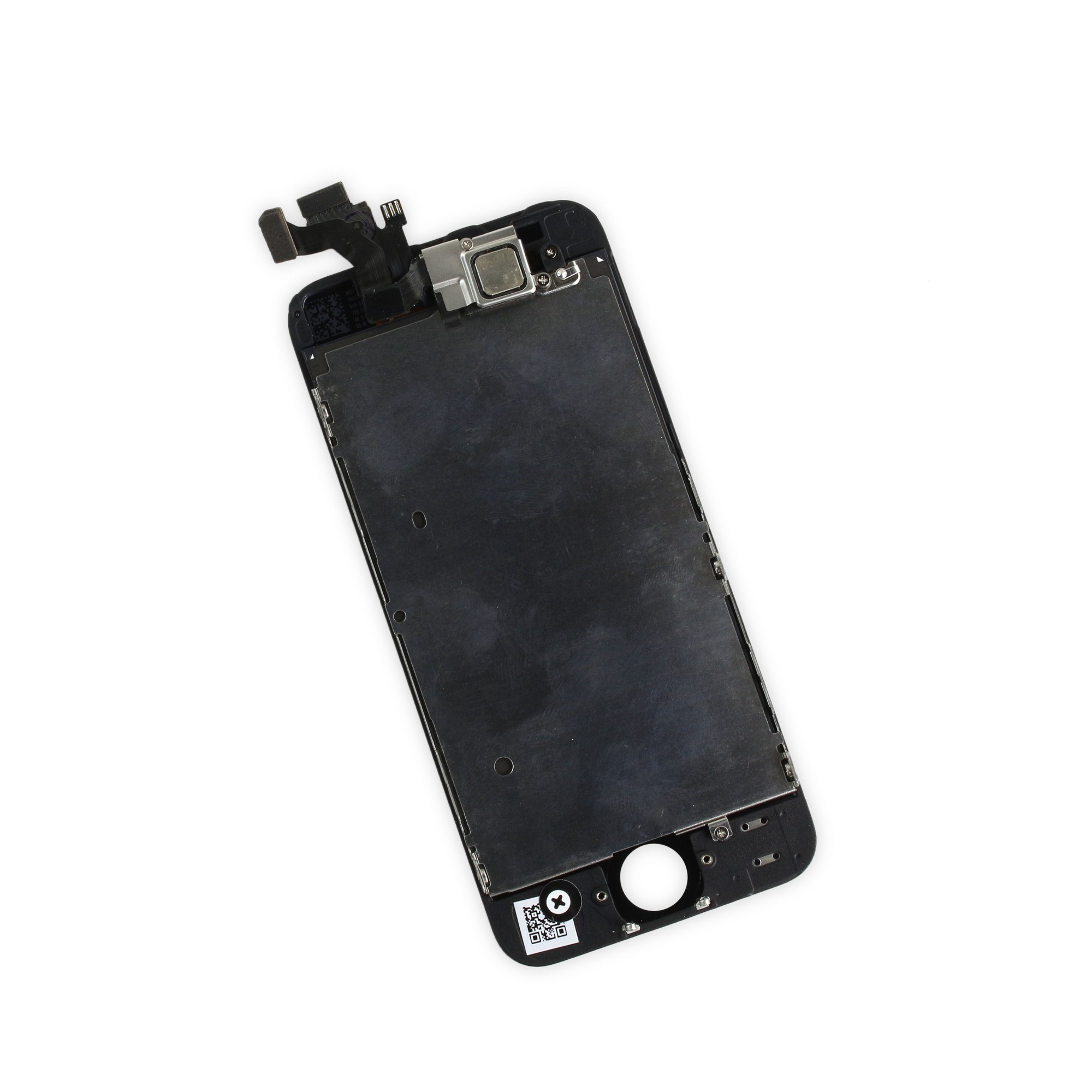 iFixit iPhone 5 LCD Screen and Digitizer Full Assembly, New, Fix Kit - Black, IF118-028-7