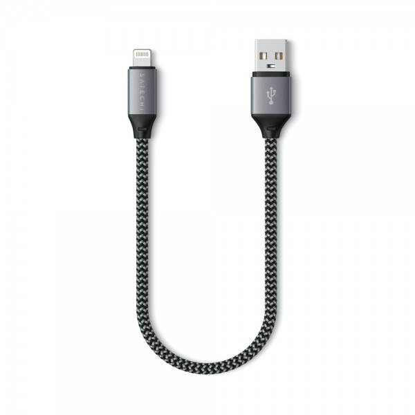 Satechi USB-A to Lightning Cable - 25 cm, ST-TAL10M