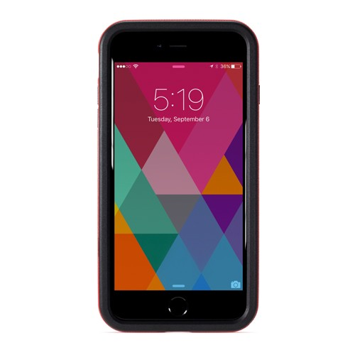NewerTech NuGuard KX for iPhone 8 Plus/7 Plus - Crimson (Red), NWTKXIPH7PCR