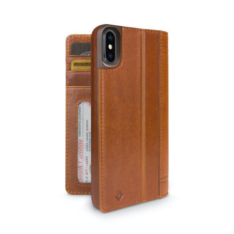 Twelve South Journal for iPhone X/Xs - Cognac, 12-1744