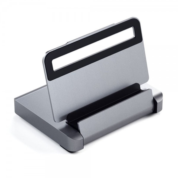 Satechi Aluminium Stand Hub For iPad Pro & Selected Tablets - Space Grey, ST-TCSHIPM