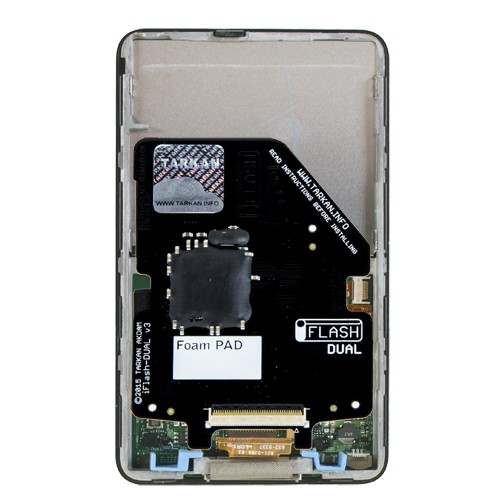 Tarkan iFlash-Dual  SD Card Adapter for iPod SD, SDHC, and SDXC compatible For iPod 5 Generation and Later, TARDUALUSD