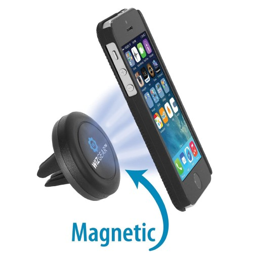 WizGear Universal Magnetic Air Vent Mount for Smartphones