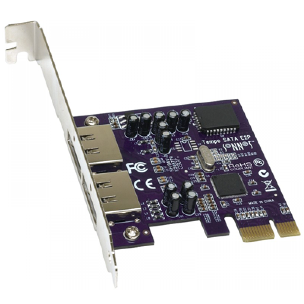 Sonnet Technology Tempo SATA E2P Serial ATA Host Adapter Card for PCI Express Systems