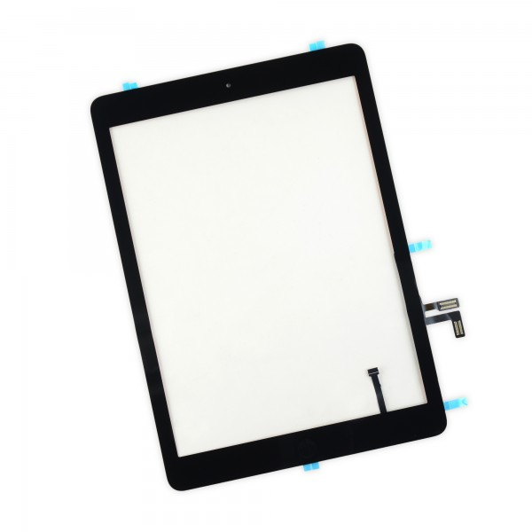 iPad Air Front Glass/Digitizer Touch Panel Full Assembly, Part Only, New - Black, IF128-018-1