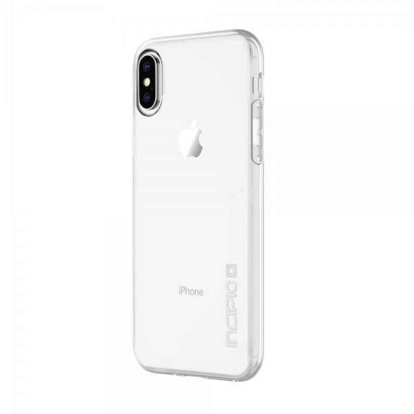 Incipio NGP Pure Slim Polymer Case for iPhone X - Clear, IPH-1630-CLR