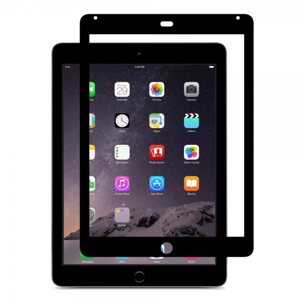 Moshi iVisor AG Anti Glare Screen Protector / Protective Film for iPad Air/Air 2 - Black, IPD6-AG-BK