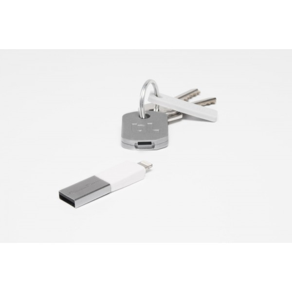 Bluelounge Kii Lightning Connector - White, *KII-WH-L