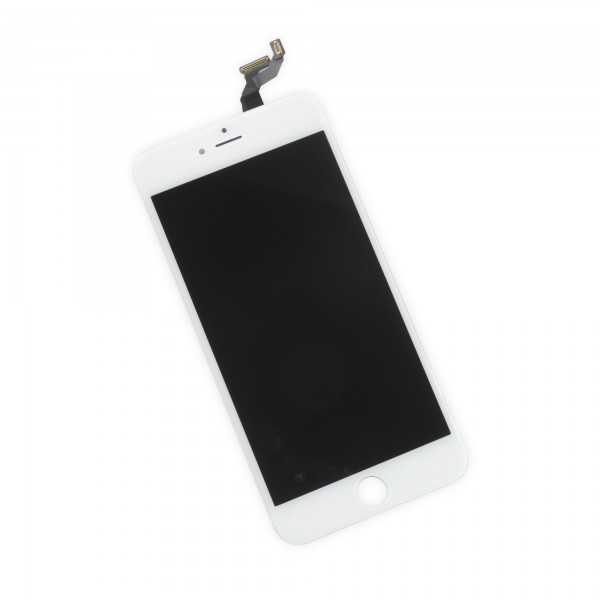 iPhone 6s Plus LCD Screen and Digitizer, New, Part Only - White, IF315-037-2