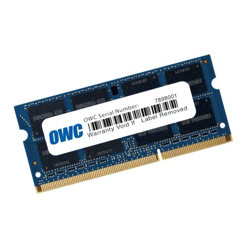 8.0GB (1 x 8.0GB) OWC PC12800 DDR3 1600MHz SO-DIMM 204 Pin RAM