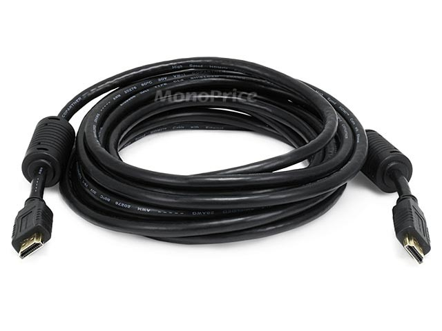 4.5m 28AWG Standard HDMI Cable With Ethernet w/ Ferrite Cores - Black, HDMICAB-6053