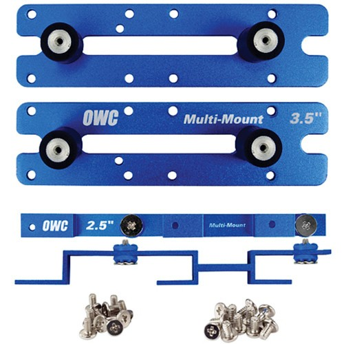OWC Multi-Mount: 2.5 to 3.5 / 3.5 to 5.25 Hard Drive adapter bracket set