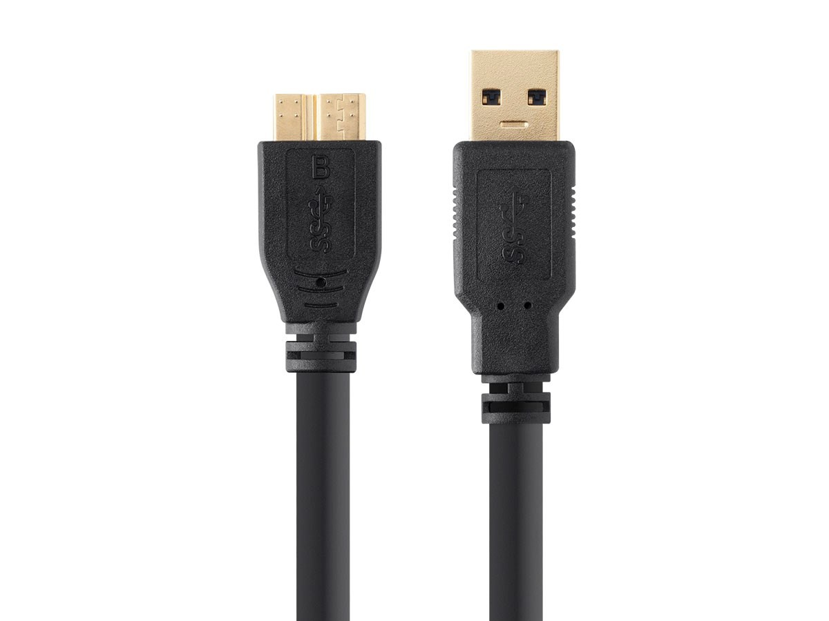 Select Series USB 3.0 A to Micro B Cable 3ft, 13753