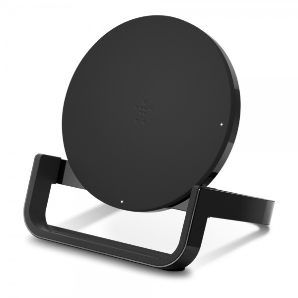 **DISCONTINUED** Belkin BoostUp Wireless Charging Stand 10W for Apple - Black, F7U052auBLK