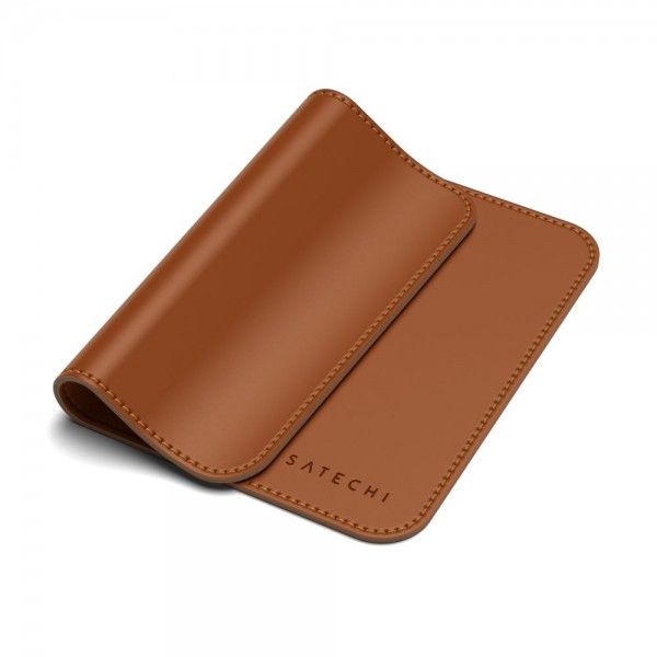Satechi Eco Leather Mouse Pad - Brown, ST-ELMPN