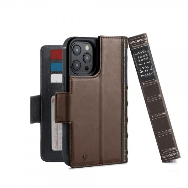 Twelve South - BookBook for iPhone 12/12 Pro - Brown, 12-2028