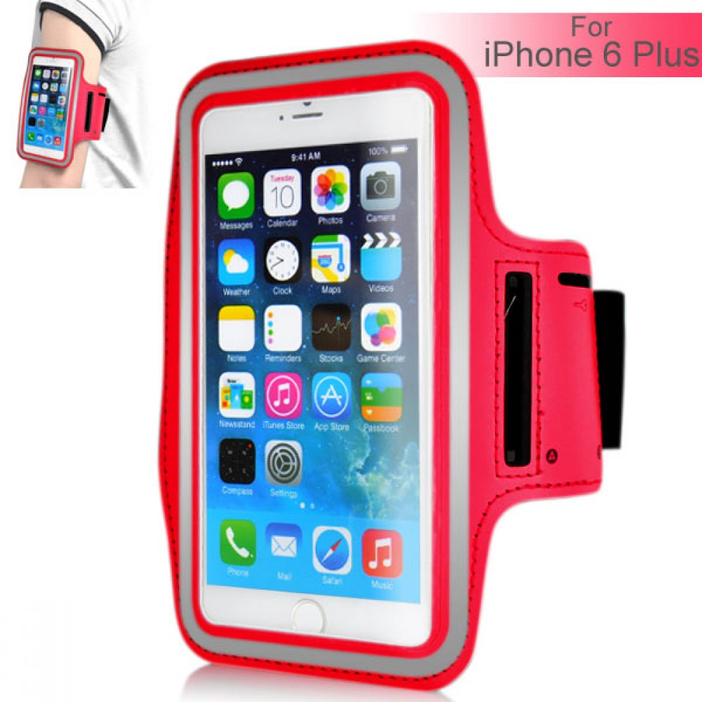 Armband for iPhone 6 Plus 5.5 inch - Red, IPH6+ARM-64845