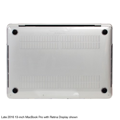 """NewerTech NuGuard Snap-on Laptop Cover for 12"""" MacBook (2015 - Current) - Clear, NWTNGSMBC12CL"""