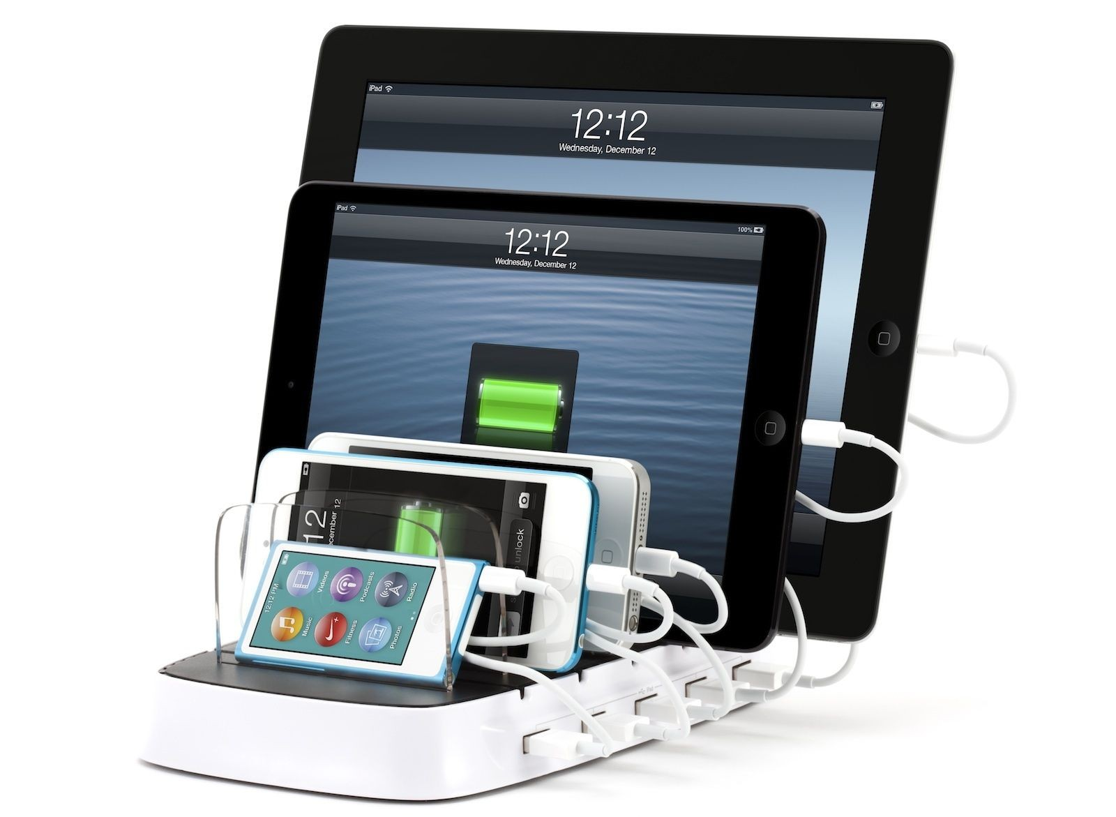 Griffin PowerDock 5 Charging Station for iPad, iPhone, iPod, GR-PWDOCK-5
