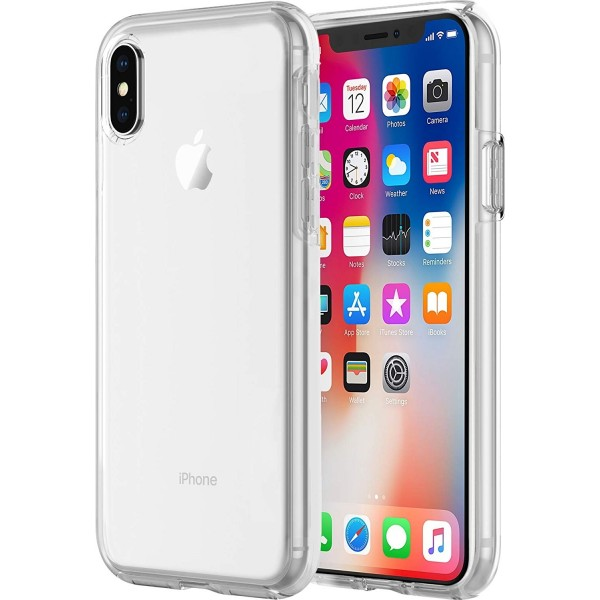 Incipio DualPro Pure - iPhone X / Xs - Clear, IPH-1635-CLR