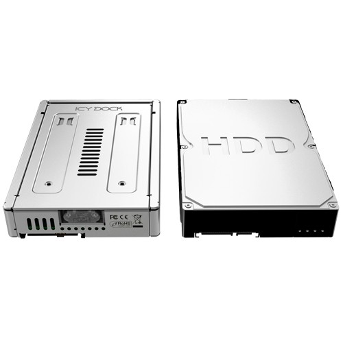 """Icy Dock 2.5"""" to 3.5"""" SATA / SSD HDD Converter Tray"""