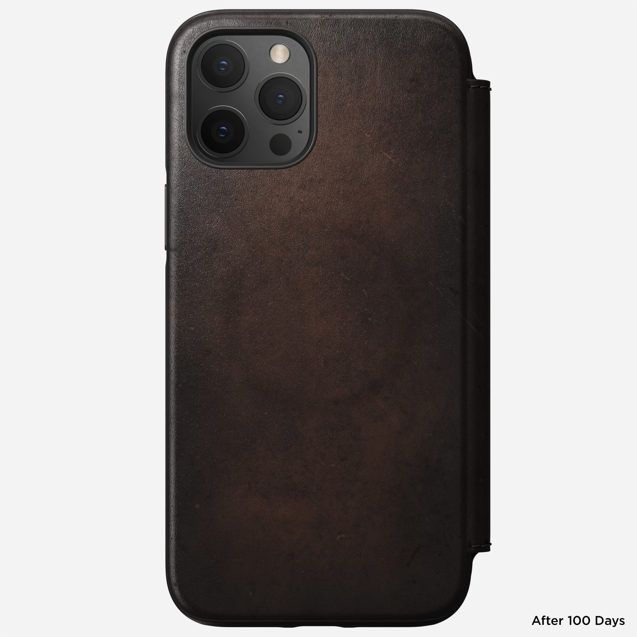 Nomad - MagSafe Leather Folio - iPhone 12 Pro Max - Rustic Brown, NM01964285