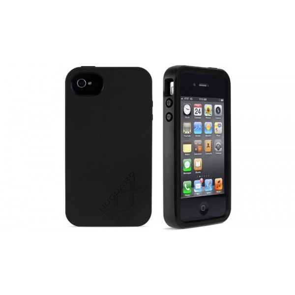 Newer Technology NuGuard KX for iPhone 4/4S - Darkness, IPH4-KX-BK