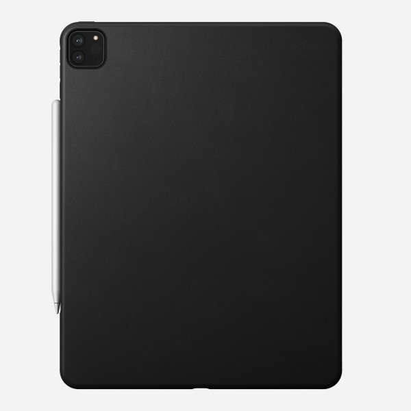 Nomad - Rugged Case - iPad Pro 12.9 (4th Gen) - Leather - Black, NM2IC10000