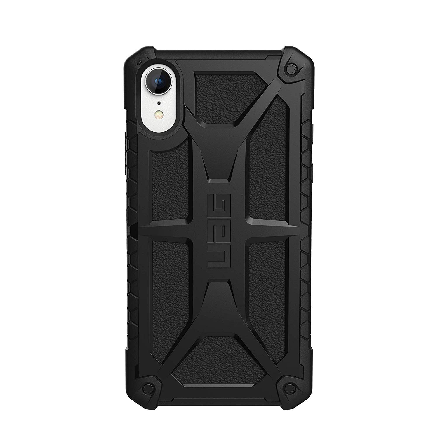 Urban Armor Gear iPhone XR Monarch Feather-Light Rugged Military Drop Tested iPhone Case - Black, 111091114040